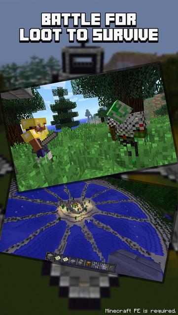 Hunger Games Servers for Minecraft PE (Online) screenshot 1