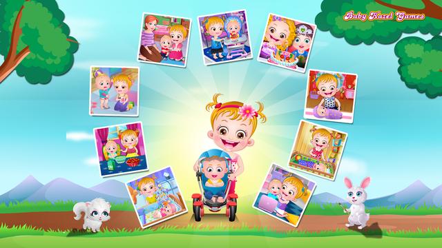 Baby Hazel Newborn Baby Games screenshot 1
