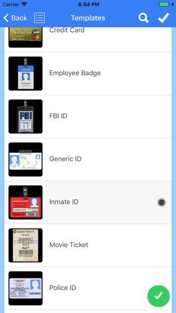 ID Card Generator screenshot 1