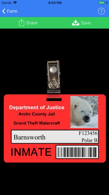 ID Card Generator screenshot 3