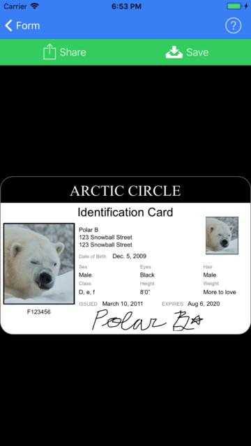 ID Card Generator screenshot 4