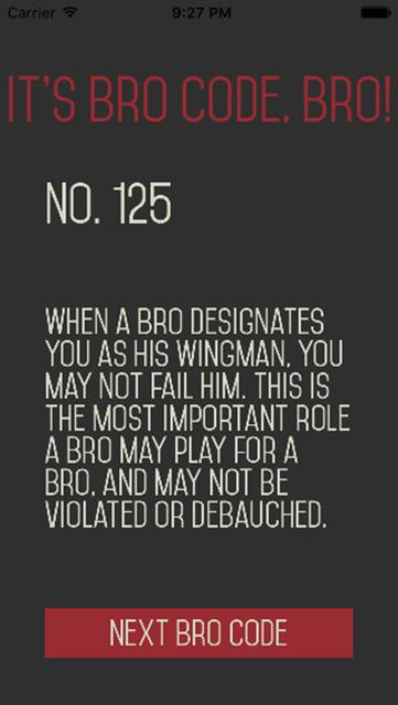 Bro Code Bro - BroBible! screenshot 3