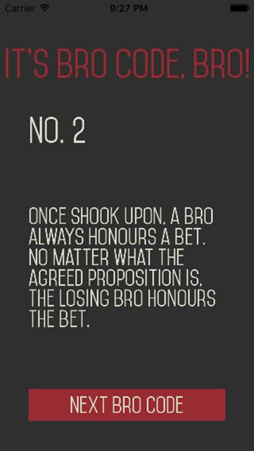 Bro Code Bro - BroBible! screenshot 4
