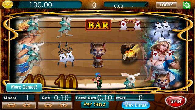 Wonderland Slots - Play Free 2016 Lucky Gold Millionaire Jackpot Payout and Win Big Bets! screenshot 2