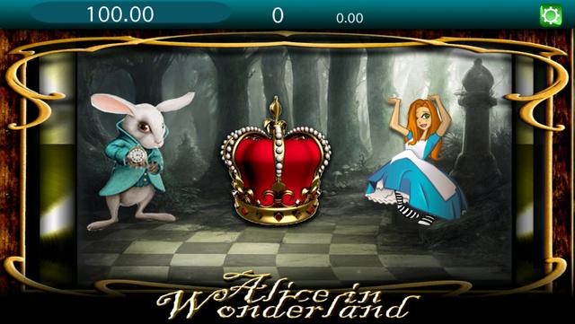 Wonderland Slots - Play Free 2016 Lucky Gold Millionaire Jackpot Payout and Win Big Bets! screenshot 1