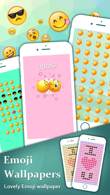 ... Awesome Emoji Wallpapers HD - Pimp Your Lock Screen with Cool Emojis Photos screenshot 2 ...