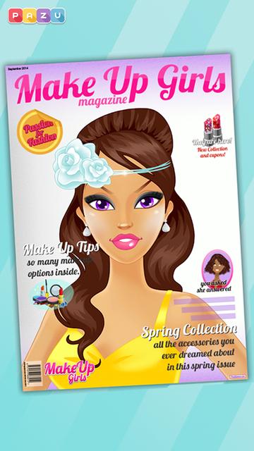 Makeup Girls - Make Up & Beauty Salon game for girls, by Pazu screenshot 5