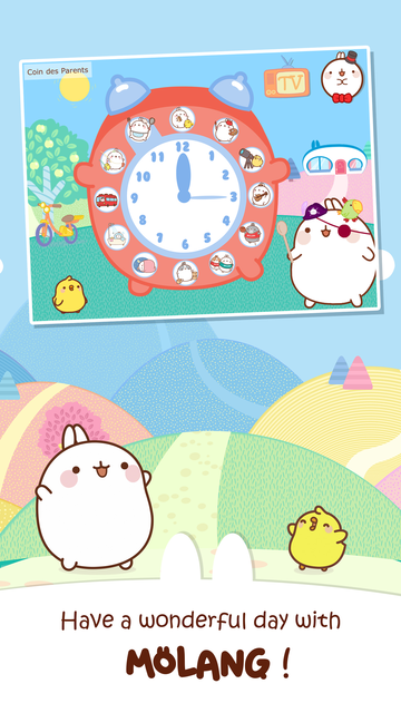 MOLANG: A HAPPY DAY - FUN GAMES FOR TODDLERS screenshot 1