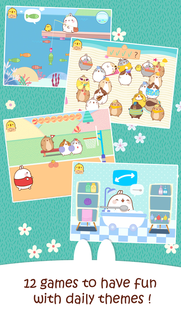 MOLANG: A HAPPY DAY - FUN GAMES FOR TODDLERS screenshot 2