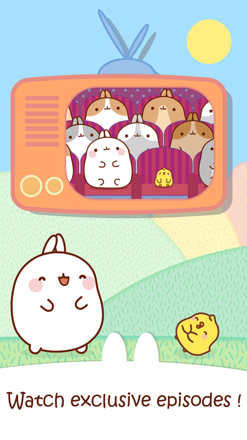 MOLANG: A HAPPY DAY - FUN GAMES FOR TODDLERS screenshot 4