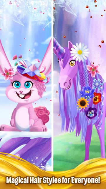Barbie Dreamtopia - Magical Hair screenshot 2
