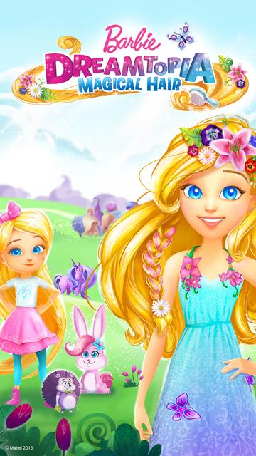 Barbie Dreamtopia - Magical Hair screenshot 5