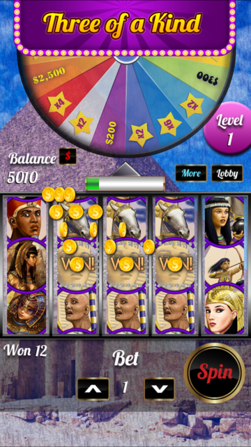 Girl-Casino Golden Slot Game screenshot 2