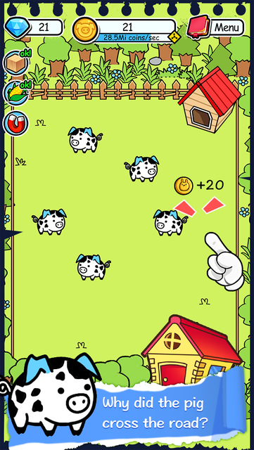 Pig Evolution - Tap Coins of the Piggies Mutant Tapper & Clicker Game screenshot 5
