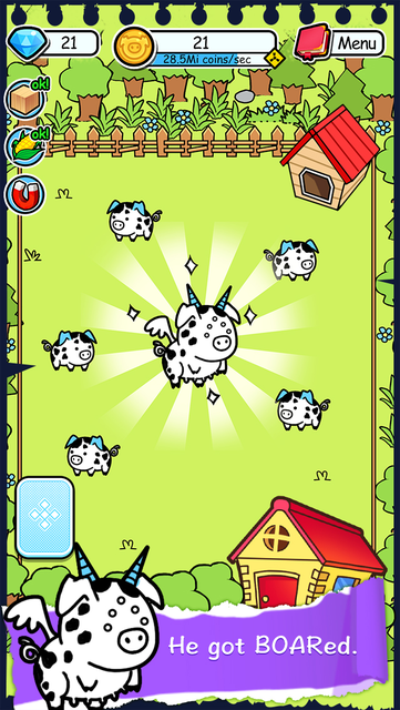Pig Evolution - Tap Coins of the Piggies Mutant Tapper & Clicker Game screenshot 6