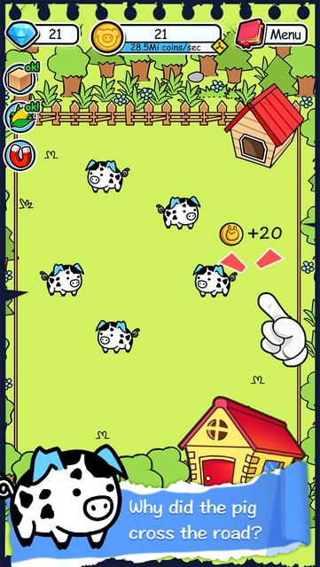 Pig Evolution - Tap Coins of the Piggies Mutant Tapper & Clicker Game screenshot 13