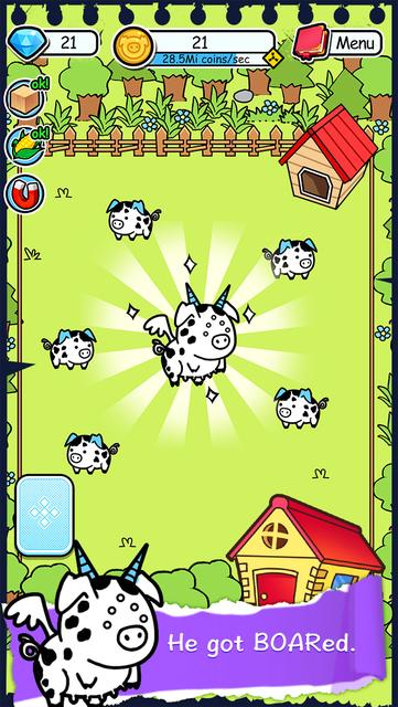 Pig Evolution - Tap Coins of the Piggies Mutant Tapper & Clicker Game screenshot 14
