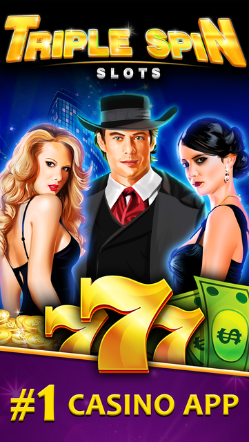Triple Spin Casino Slots - All New, Grand Vegas Slot Machine Games in the Double Rivers Valley! screenshot 1