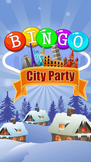 Party Bingo City - Free Bingo screenshot 1