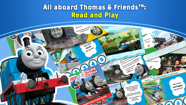 Thomas & Friends™: Read & Play screenshot 1