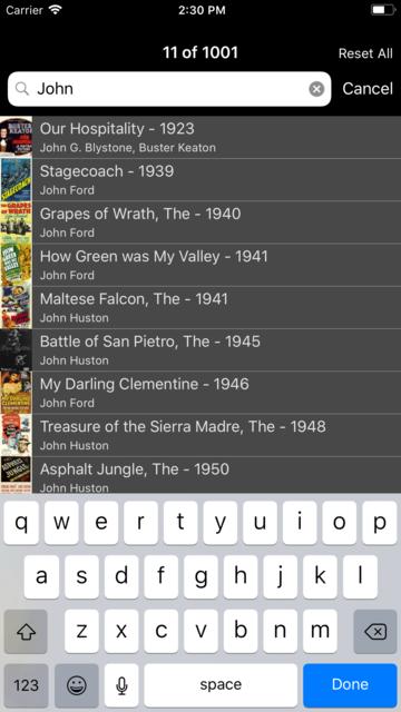 1001 Movies screenshot 8