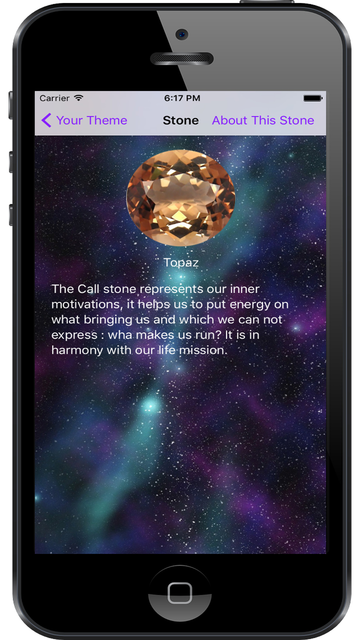Crystal Numerological Theme screenshot 3