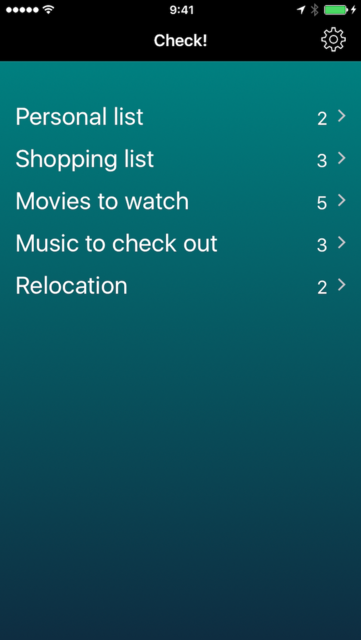 To-do lists, checklists, tasks and themes - Check! screenshot 1