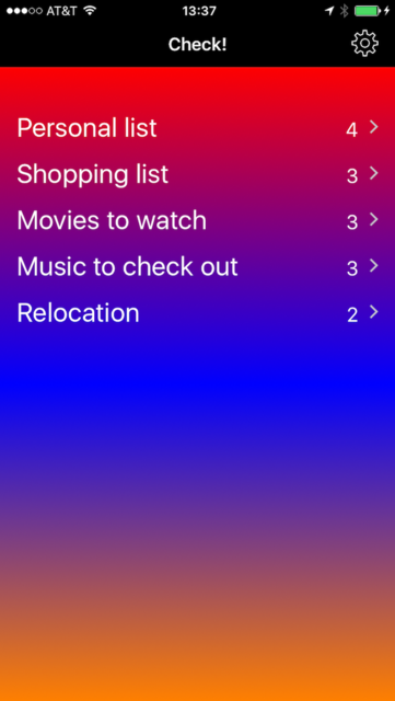 To-do lists, checklists, tasks and themes - Check! screenshot 3
