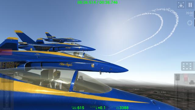Blue Angels: Aerobatic Flight Simulator screenshot 9