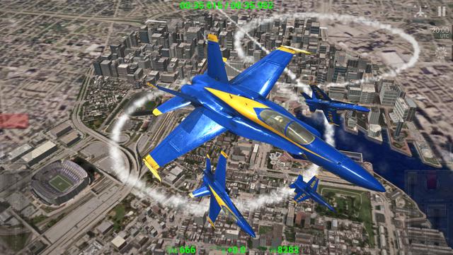 Blue Angels: Aerobatic Flight Simulator screenshot 10