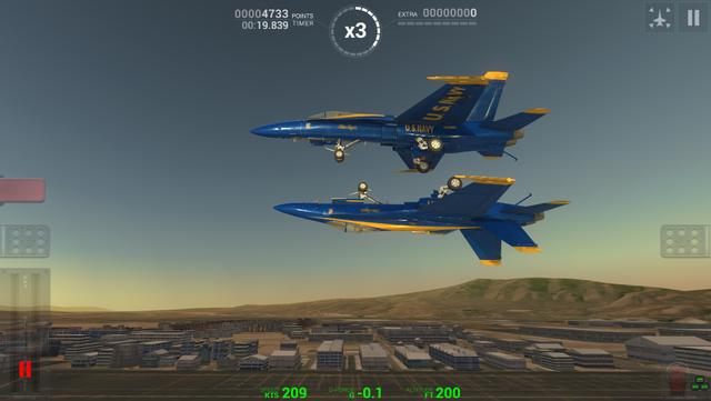 Blue Angels: Aerobatic Flight Simulator screenshot 13