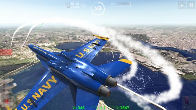 Blue Angels: Aerobatic Flight Simulator screenshot 22
