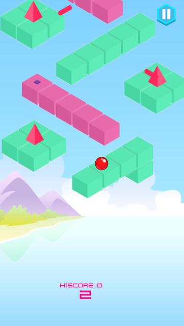 Jumping Balls. screenshot 1
