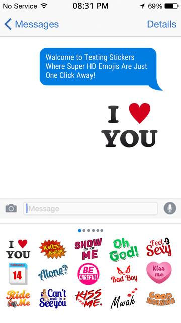 Adult Texting Stickers screenshot 4
