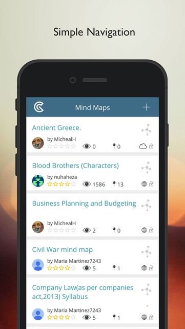 GoConqr MindMaps screenshot 1