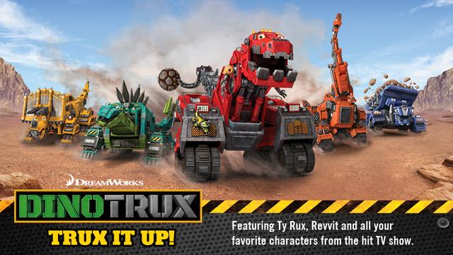 Dinotrux App – Trux It Up! screenshot 1
