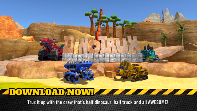 Dinotrux App – Trux It Up! screenshot 5