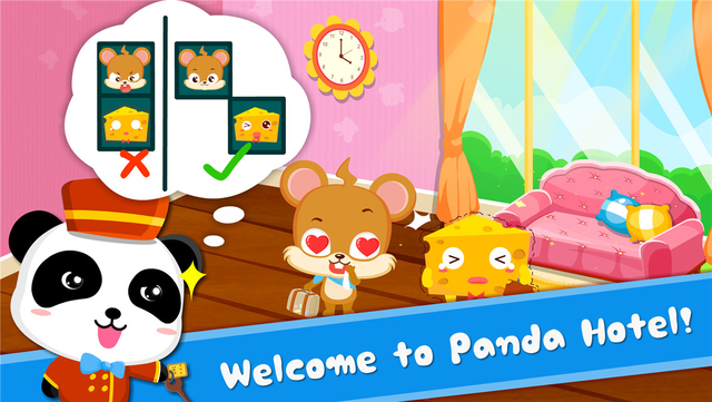 Panda Hotel - Puzzle screenshot 7
