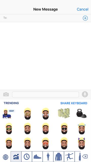 OdellMoji by Odell Beckham Jr. screenshot 3
