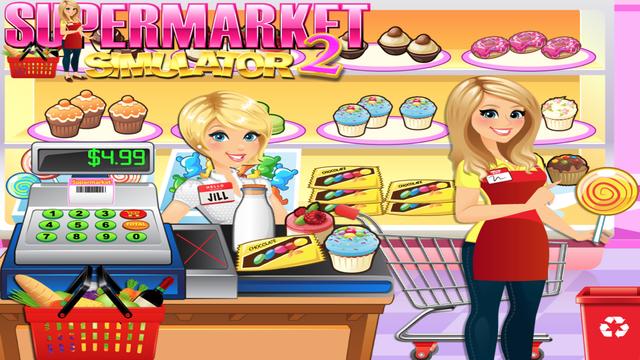 Supermarket Grocery Store Girl screenshot 5