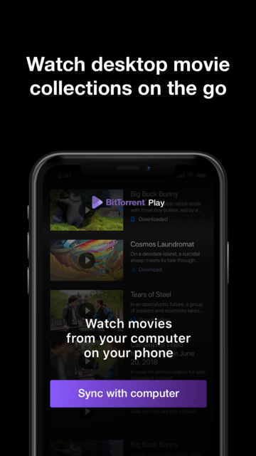 BitTorrent Play screenshot 1