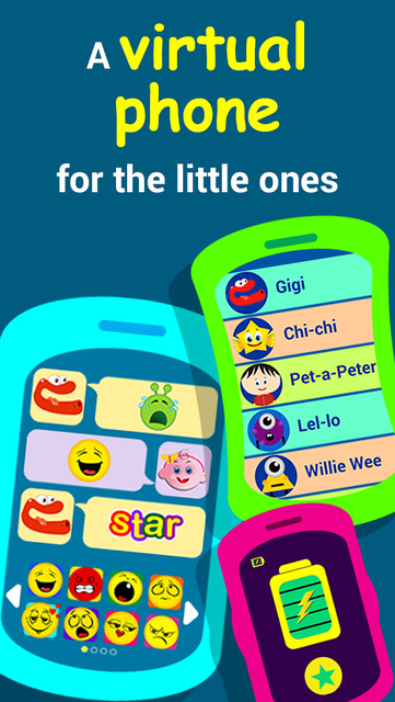 Fun phone toy for kids,  Play phone for toddlers with musical baby games screenshot 6