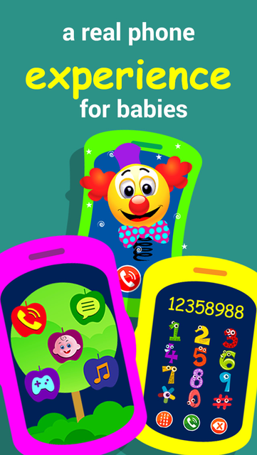 Fun phone toy for kids,  Play phone for toddlers with musical baby games screenshot 7