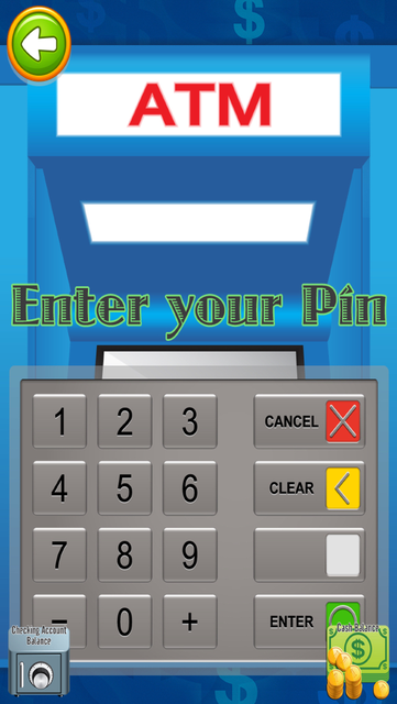 ATM Bank Teller & Cash Machine screenshot 4
