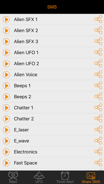 Alien Voice & UFO Soundboard Button: 90+ Sci-Fi Sound Effects of Robot Chatter & Space Flying screenshot 4