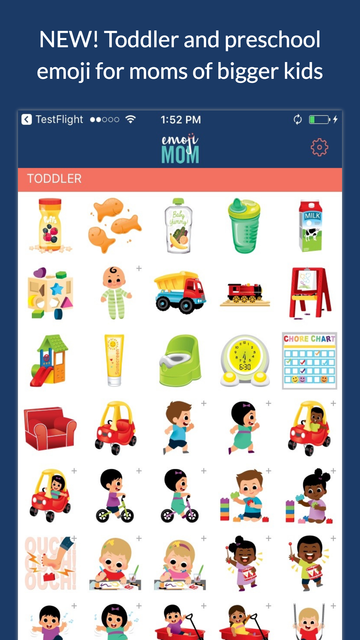 EmojiMom - An Emoji App for the Modern Mom screenshot 3