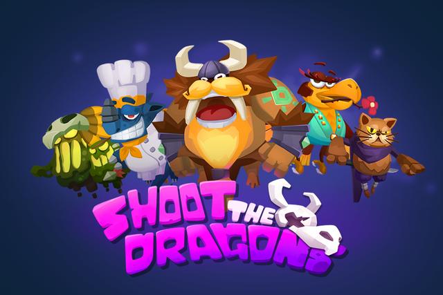 Shoot the Dragons - Top Multiplayer SIDEWAYS SHOOT screenshot 1