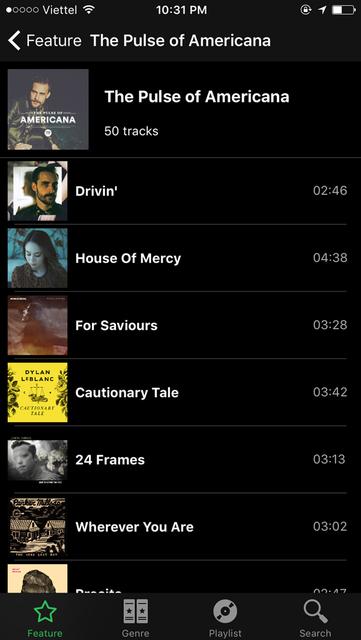 GO Music - Streaming,equalizer,themes screenshot 2