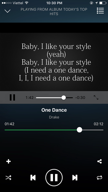 GO Music - Streaming,equalizer,themes screenshot 3