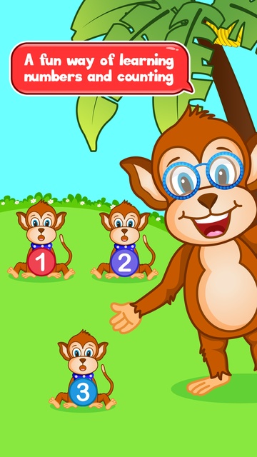Monkey Preschool - Learn Numbers and Counting screenshot 1